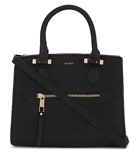 ALDO Repen faux-leather satchel bag (Black