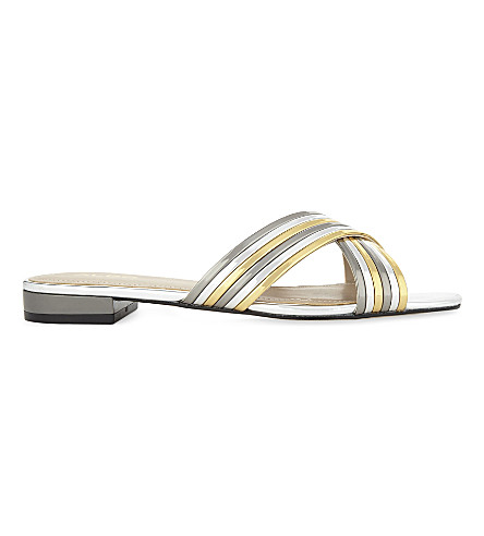 ALDO Maryline metallic sandals (Gold