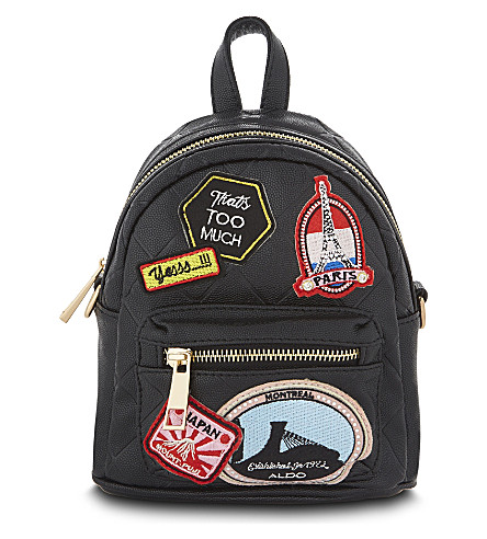 ALDO Farore mini backpack (Black