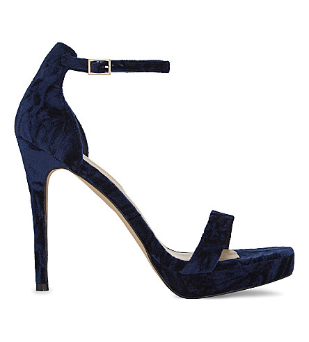 ALDO Madalene heeled sandals (Navy