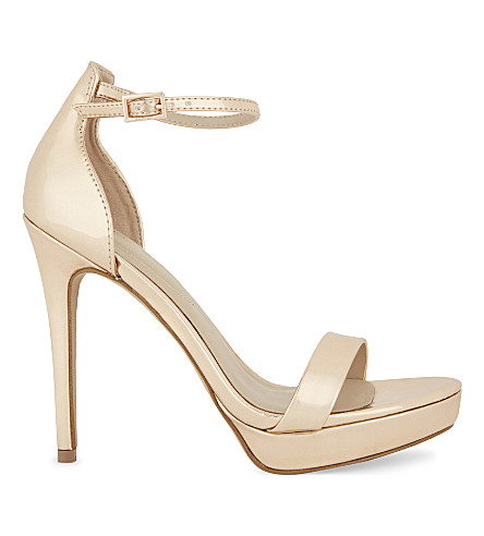 ALDO Madalene heeled sandals (Metallic+miscellaneous
