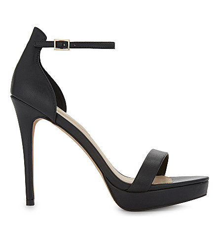 ALDO Madalene heeled sandals (Black+synthetic