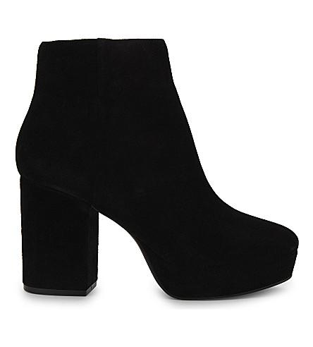 ALDO Edalen suede ankle boots (Black+suede