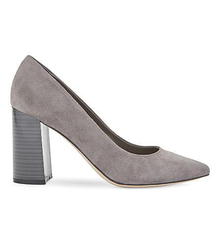 ALDO Martya 麂皮高跟宫廷鞋 (灰色