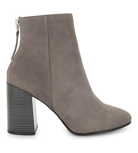 ALDO Jola suede ankle boots (Grey+suede