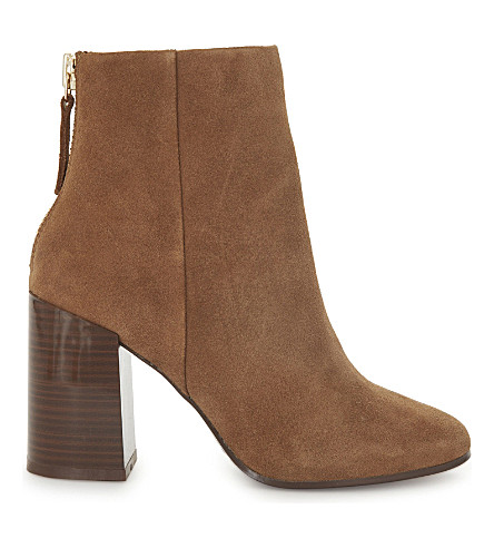 ALDO Jola suede ankle boots (Medium+brown