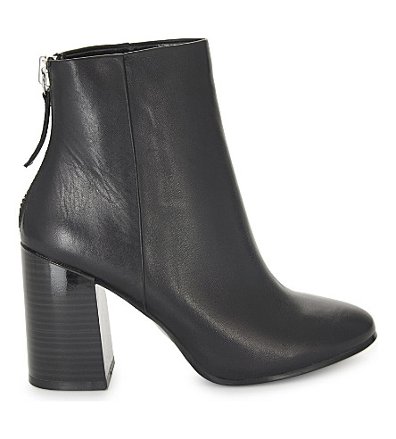 ALDO Jola leather ankle boots (Black+leather