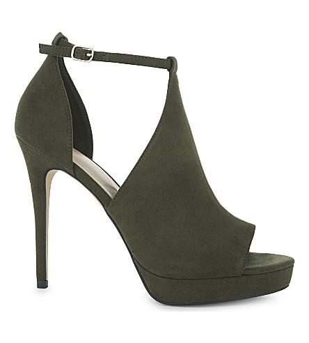 ALDO Annys platform sandals (Khaki