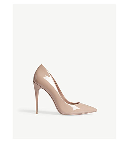 ALDO Stessy patent-leather courts (Light+pink