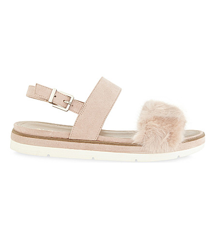 ALDO Coppiano wedge sandals (Light+pink
