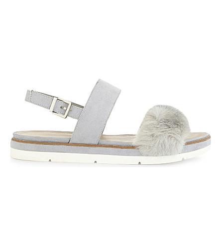 ALDO Coppiano wedge sandals (Light+blue