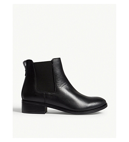 ALDO Meaven leather ankle boots (Black+leather