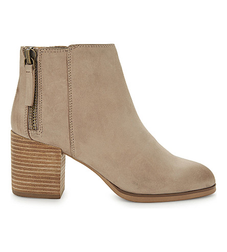 ALDO Kelii leather ankle boots (Beige