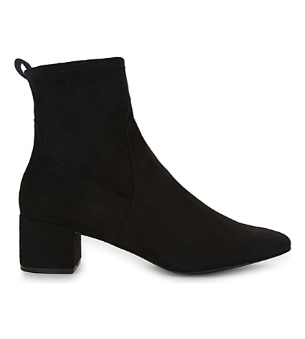 ALDO Stefi suede ankle boots (Black