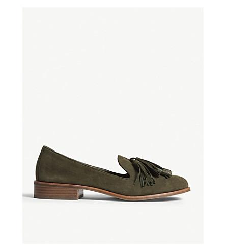 ALDO Capps suede slippers (Khaki