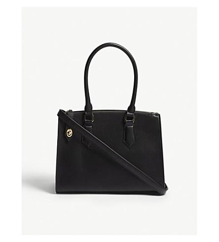 ALDO Yeima faux-leather tote (Black
