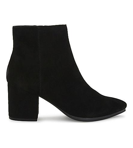 ALDO Fralissi suede ankle boots (Black+suede