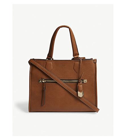 ALDO Dhanbad faux-leather tote (Cognac