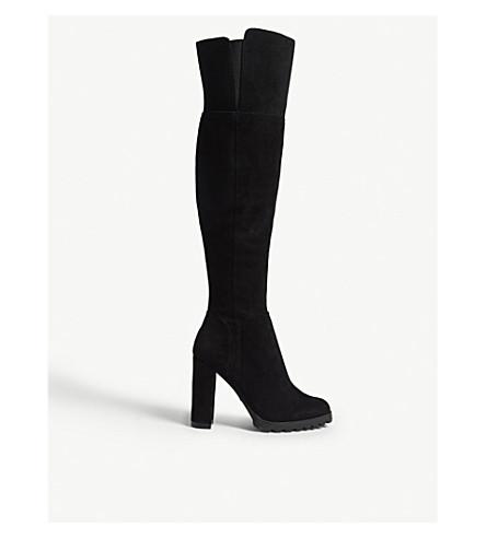 ALDO Cayoosh suede over-the-knee boots (Black+suede