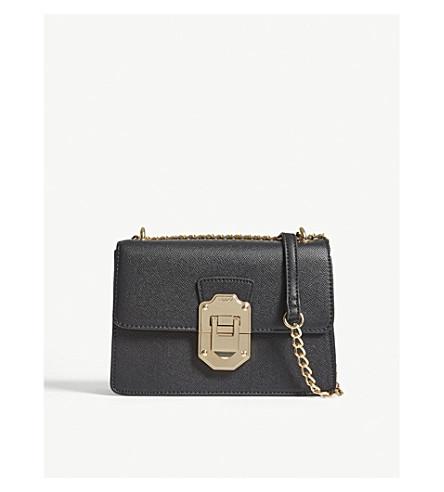 ALDO Ulaliwen faux-leather cross-body bag (Black
