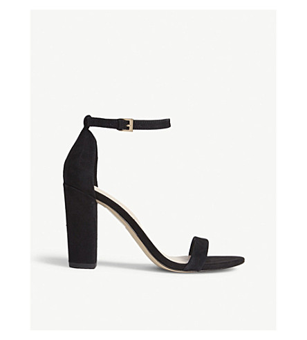 ALDO Myly high sandals (Black+suede
