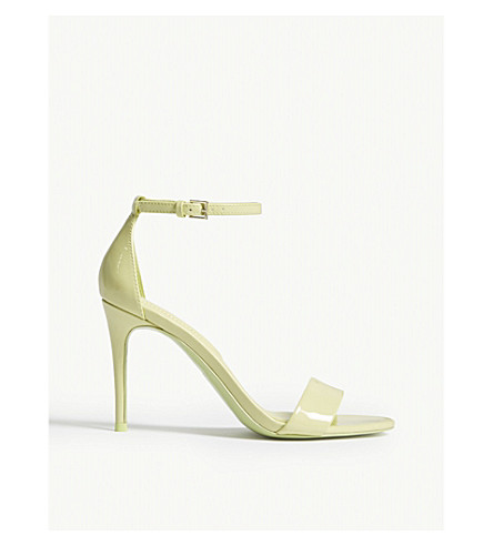 ALDO Cally patent sandals (Light+green