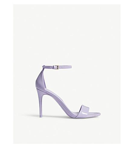 ALDO Cally patent sandals (Lilac
