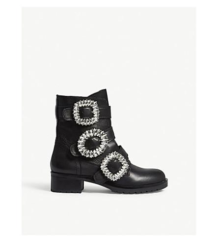 ALDO Dwoiviel leather ankle boots (Black+leather