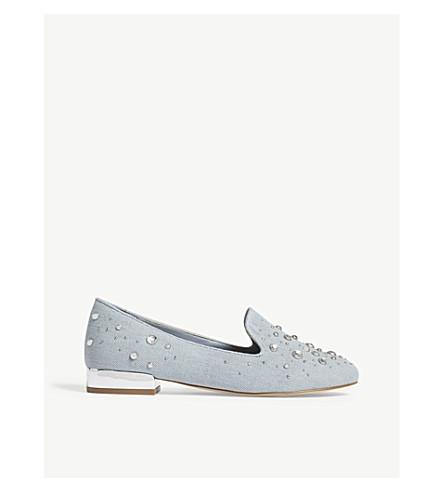 ALDO Uniawet embellished loafers (Denim