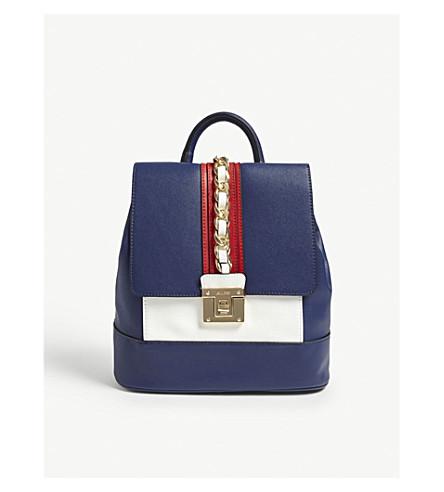 ALDO Mariglianella chain backpack (Navy++miscellaneous