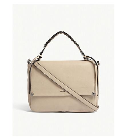 ALDO Bignomia faux-leather satchel (Taupe