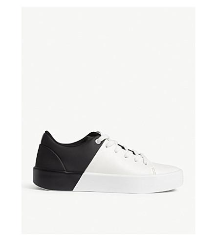 ALDO Etilivia colour-block trainers (Black+synthetic