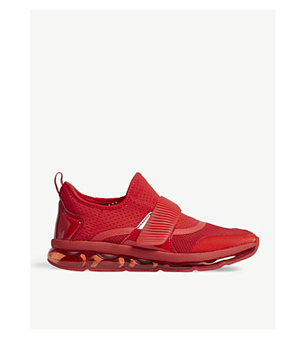 ALDO Erillson perforated trainers (Red