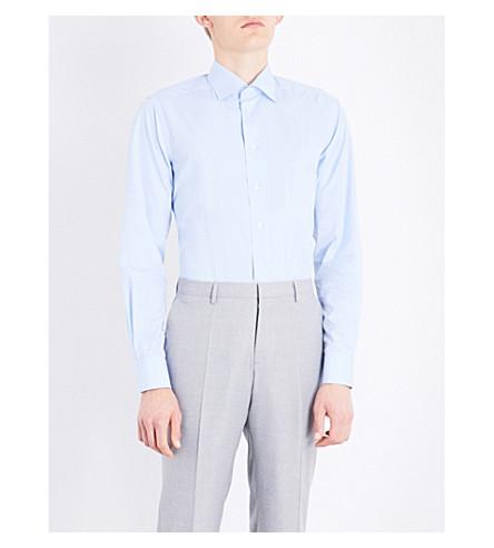 ETON Contemporary-fit cotton shirt (Blue