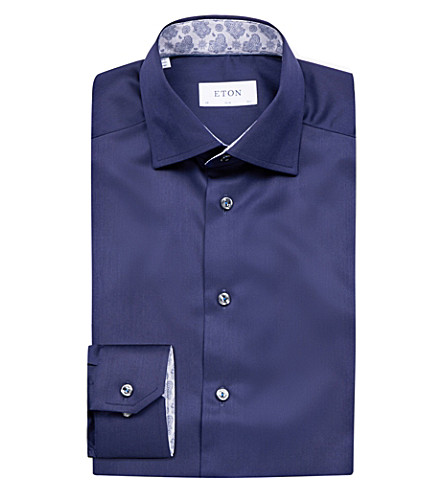 ETON Slim-fit shirt (Blue