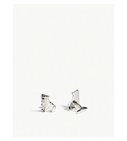 ETON Bulldog cufflinks (Silver