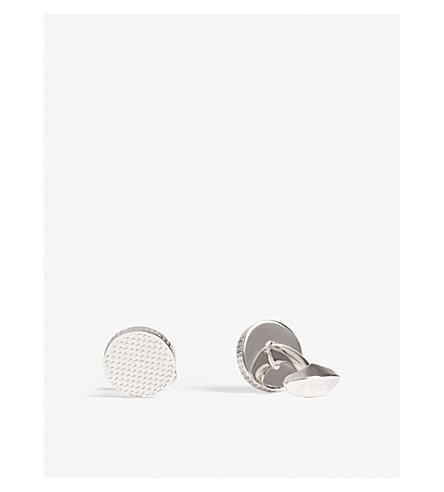 ETON Textured cufflinks (Silver