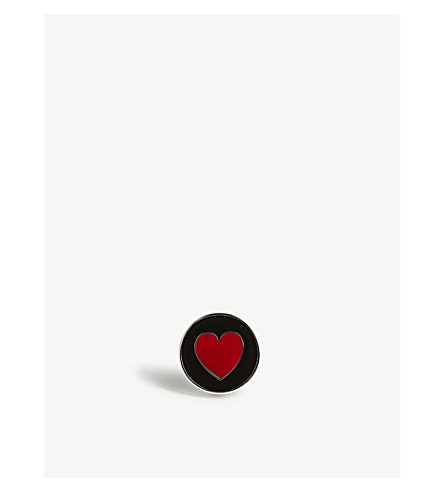 ETON Heart lapel pin (Black