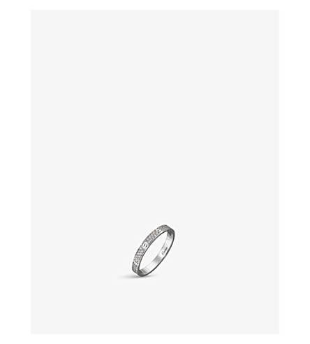 CARTIER LOVE 18ct white-gold and diamond ring (White+gold+diamond