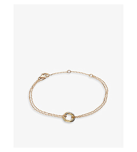 CARTIER Sweet Trinity 18ct gold bracelet