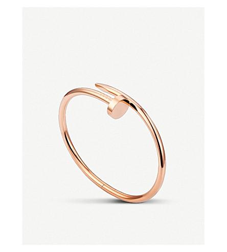 CARTIER Juste un Clou 18ct pink-gold bracelet