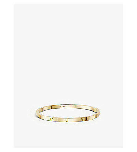 CARTIER LOVE 18ct yellow-gold bracelet small (Yellow+gold