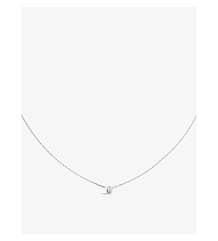 CARTIER Diamants Légers de Cartier 18ct white-gold necklace