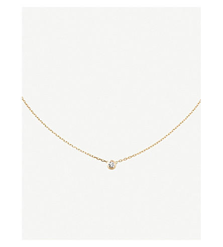 CARTIER Diamants Légers de Cartier 18ct yellow-gold large necklace