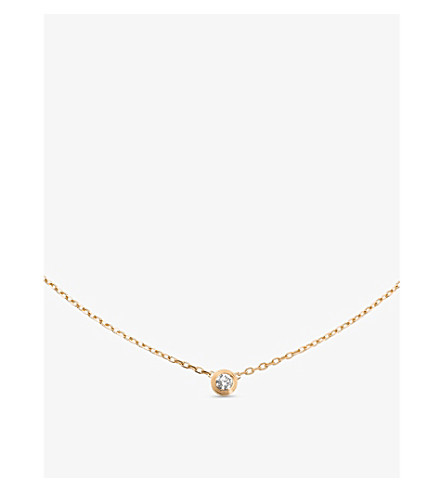 CARTIER Diamants Légers de Cartier 18ct gold and diamond necklace