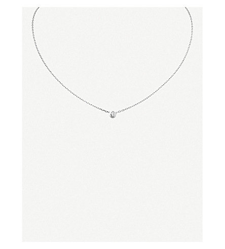 CARTIER Diamants Légers de Cartier 18ct white-gold and diamond necklace