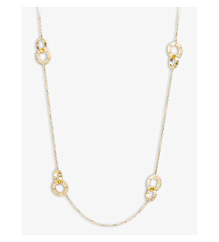 CARTIER Love 18ct gold necklace