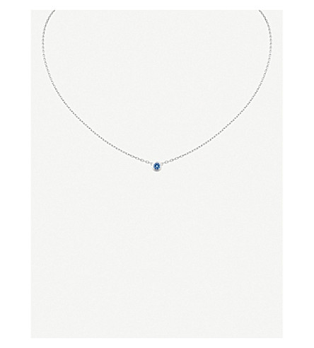 CARTIER Saphirs Légers de Cartier 18ct white-gold and sapphire necklace