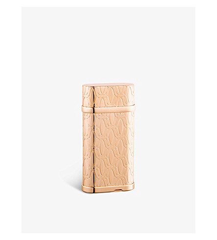 CARTIER C de Cartier rose gold-toned lighter