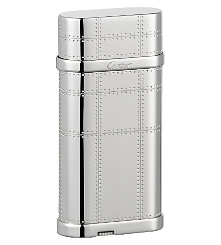 CARTIER Transatlantique rivets decor lighter